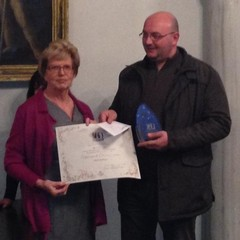 Daddiego premiato a Roma per il Presepe in cartapesta