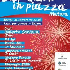 Capodanno in piazza con Matera2019