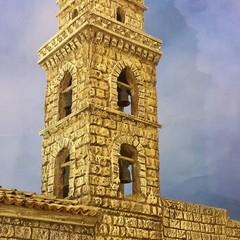 Il campanile della Cattedrale di Matera nel presepe di Artese