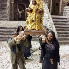 La Madonna nera di Viggiano nel presepe di Artese