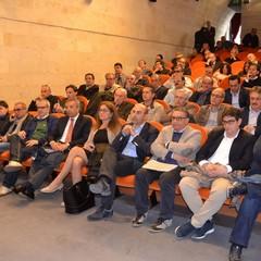 L'intervento dell'onorevole Fioroni con Spada pubblico