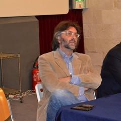 Achille Spada nell'incontro con l'onorevole Fioroni