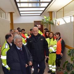 La visita di Gabrielli a Montescaglioso