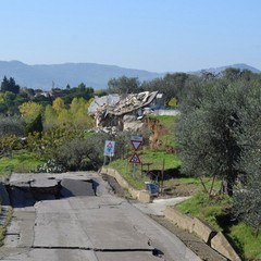 Frana a Montescaglioso, l'altro fronte