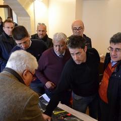 Il sindaco Silvaggi a colloquio con i tecnici