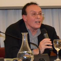 Pietro Laureano durante il convegno Unesco