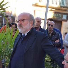 Tito Di Maggio nell'incontro con l'onorevole Meloni
