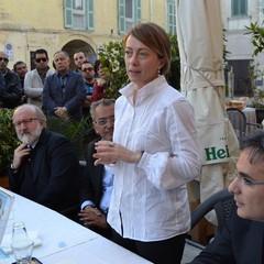 Giorgia Meloni a Matera con Casino e Di Maggio