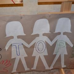 La manifestazione contro la violenza sulle donne