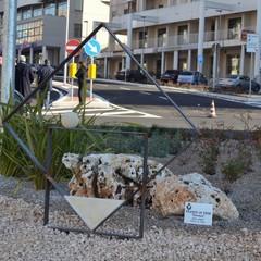 Inaugurazione via La Martella 4 corsie la scultura di Di Pede