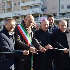 Inaugurazione via La Martella 4 corsie taglio del nastro