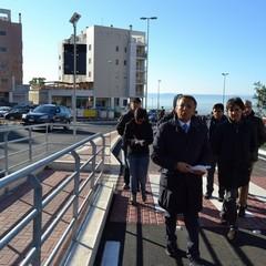 Inaugurazione via La Martella 4 corsie Trombetta