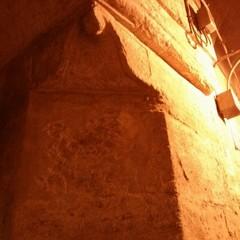 Arco danneggiato in piazza Duomo