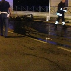 Incidente mortale in via Lucana