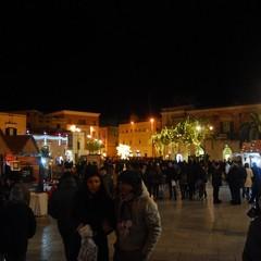 Atmosfera natalizia in città