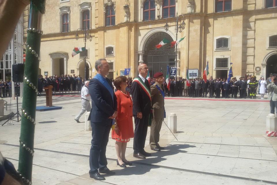 Matera celebra il 69° anniversario della Repubblica Italiana