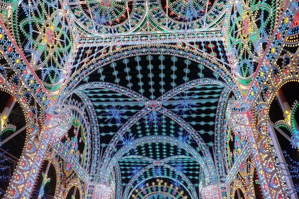 Luminarie Festa della Bruna