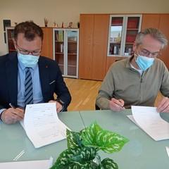 firma accordo Cesma- Comune di Matera