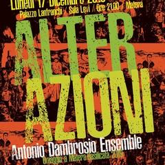 Antonio Dambrosio Ensemble - Locandina Matera