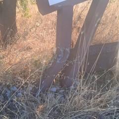 atti vandalici parco murgia materana