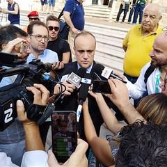 Ministro ai beni e alle attività culturali Alfredo Bonisoli