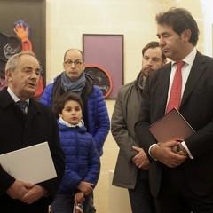 Ferdinando Palazzo sindaco di Bosco e R De Ruggieri sindaco Matera