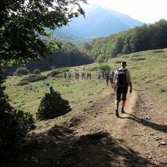 parco Pollino-  escursionisti