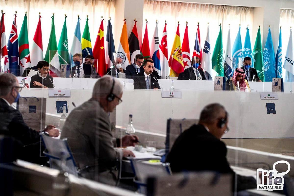 Ministro Luigi Di Maio, Palazzo Lanfranchi, G20