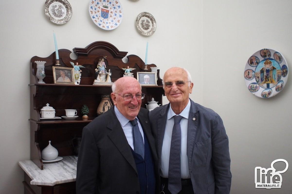 Michele De Ruggieri e Giorgio Corazza