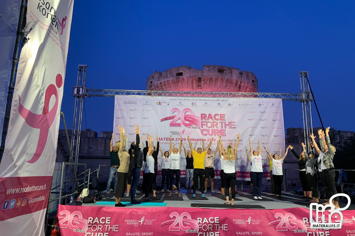 ''Race for the Cure'' di Matera