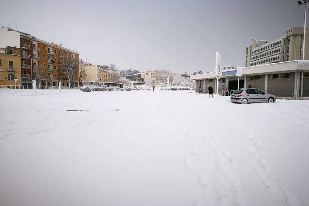 Neve a Matera