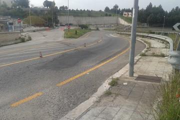 Strada dissestata di Aia del Cavallo ristrutturazione