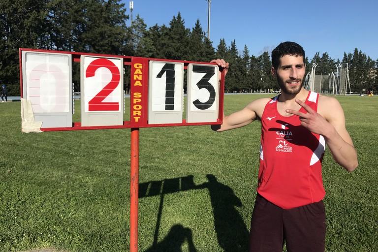Alessandro Laurano- recordman regionale nel salto con l'asta