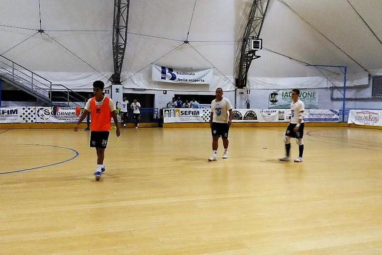 Real Team Matera- Fasi di allenamento