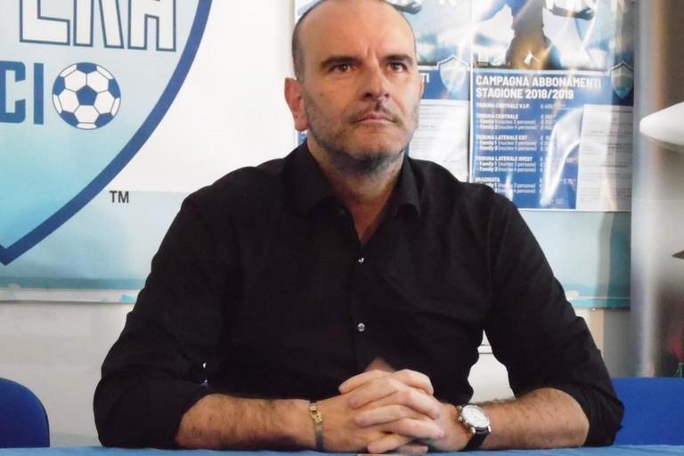 Nicola Andrisani, Presidente Matera Calcio