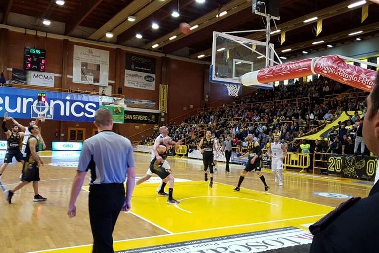 basket Corato vs Olimpia Matera