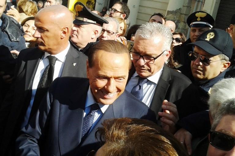 Berlusconi a Matera