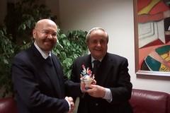 L'ambasciatore del Paraguay in visita dal sindaco