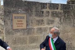 Il belvedere di Sant'Agostino intitolato a Colombo