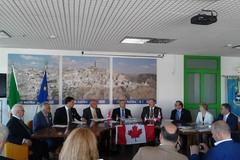 Siglato il protocollo d'intesa fra Toronto e Matera