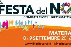 """Referendum, a Matera la """"Festa del NO"""" in piazza San Giovanni"""