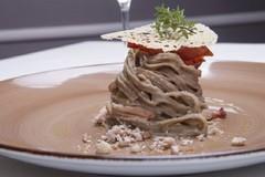 "Ricetta salata ""Linguina di castagna ai sapori murgiani"""