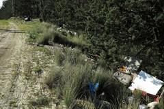 Discarica abusiva a Serra Pizzuta