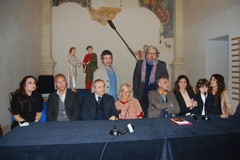 """Il cast della fiction Rai """"Sorelle"""" saluta Matera"""