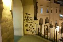 Messaggi d'amore nel cuore dei Sassi e sul Belvedere di piazza Vittorio Veneto