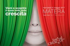 """A Matera, il """"Festival della Crescita"""""""