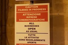 """Riprese del film """"James Bond"""", altre disposizioni per il traffico"""