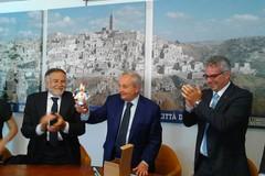 I sindaci di Cascia e Norcia in visita al Comune di Matera