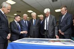 Il Presidente della Repubblica Sergio Mattarella al Polo Spaziale di Matera