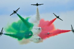 Commemorazioni XXI settembre, le Frecce Tricolori a Matera